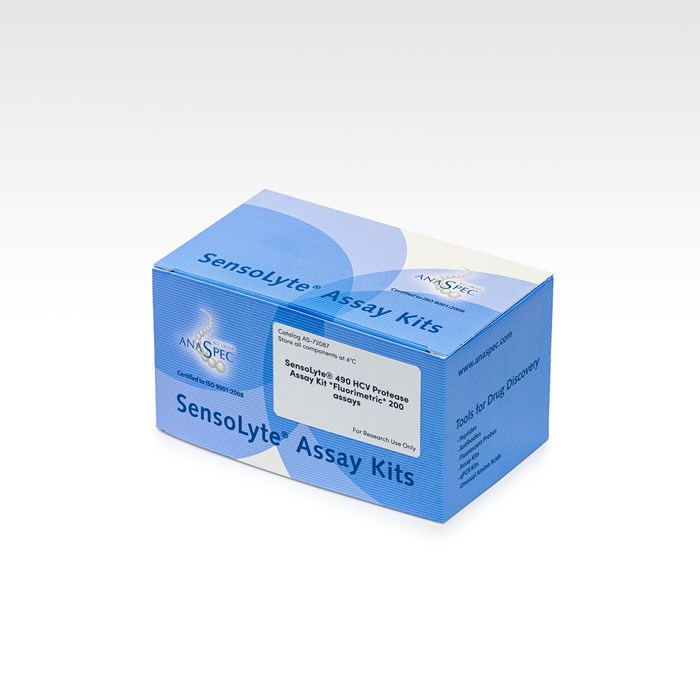 Image of a kit SensoLyte 490 HCV Protease Assay Kit Fluorimetric 200 assays