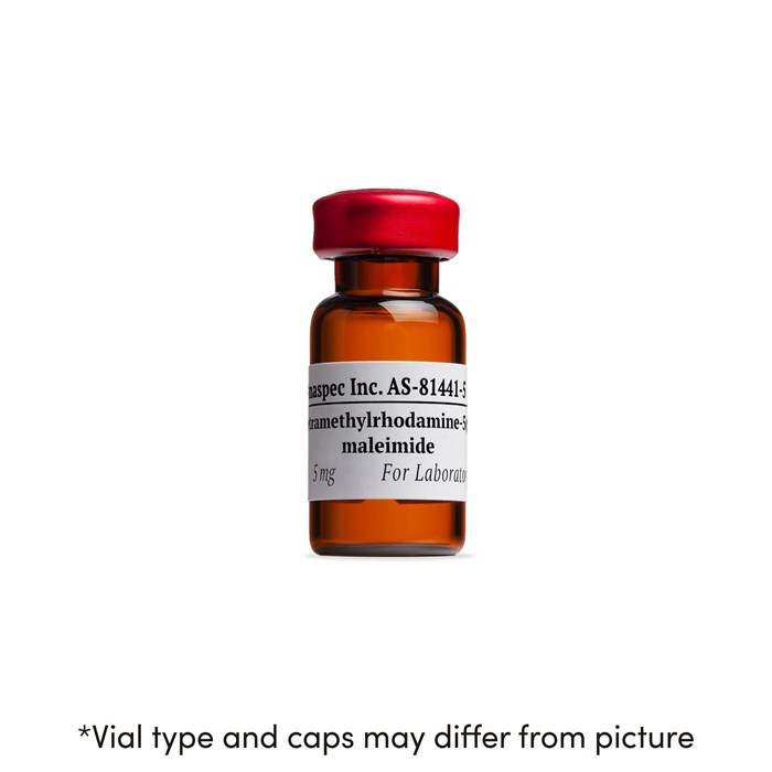 Bottle of Tetramethylrhodamine-5-(and-6) C2 maleimide